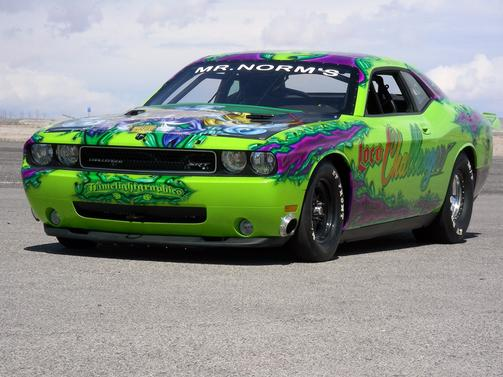 Loco Challenger, the fastest modern hemi in the world. 8.32@173, 3615# on small tires.