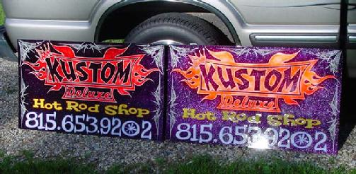 urethane on aluminum signs