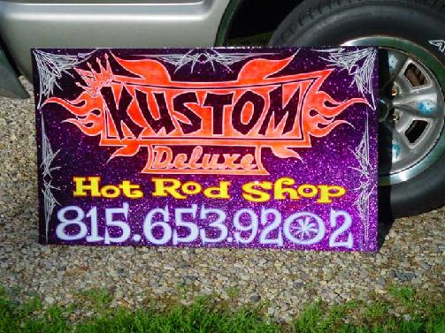 Custom Painted Signs